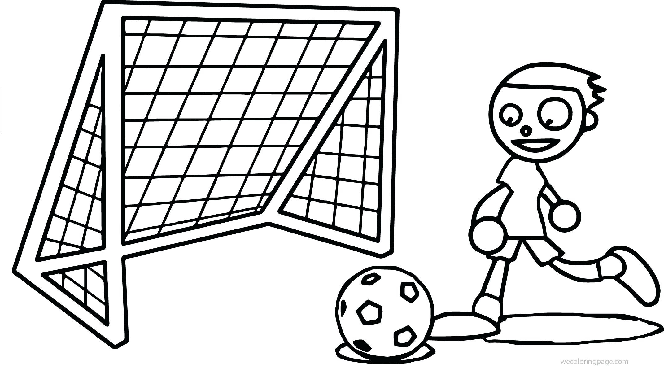 Soccer Net Drawing At Getdrawings