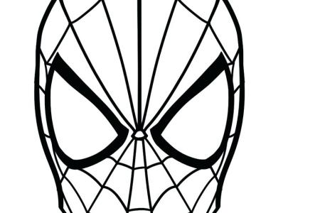 spiderman face mask template » 4K Pictures | 4K Pictures [Full HQ ...