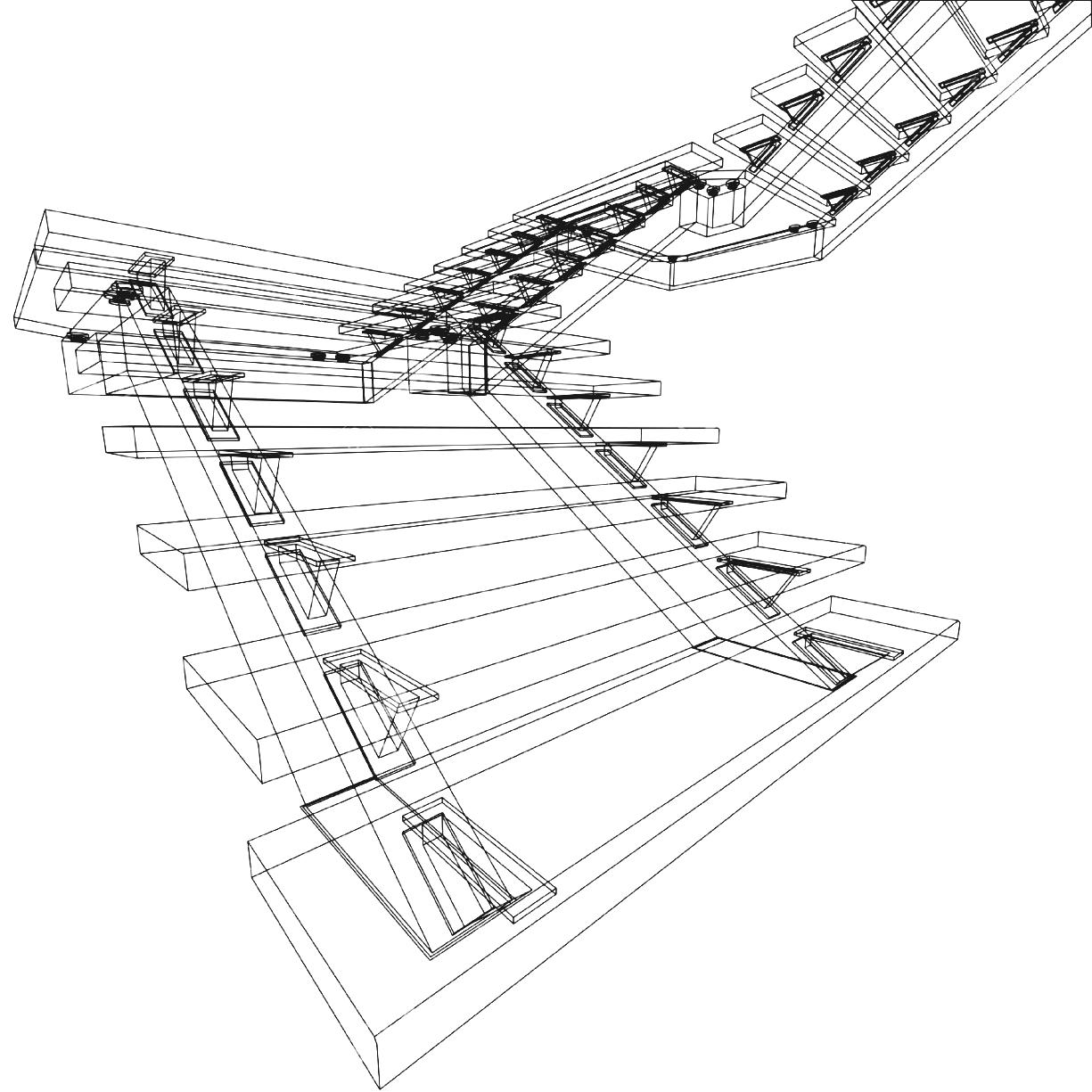 Spiral Staircase Drawing At Getdrawings