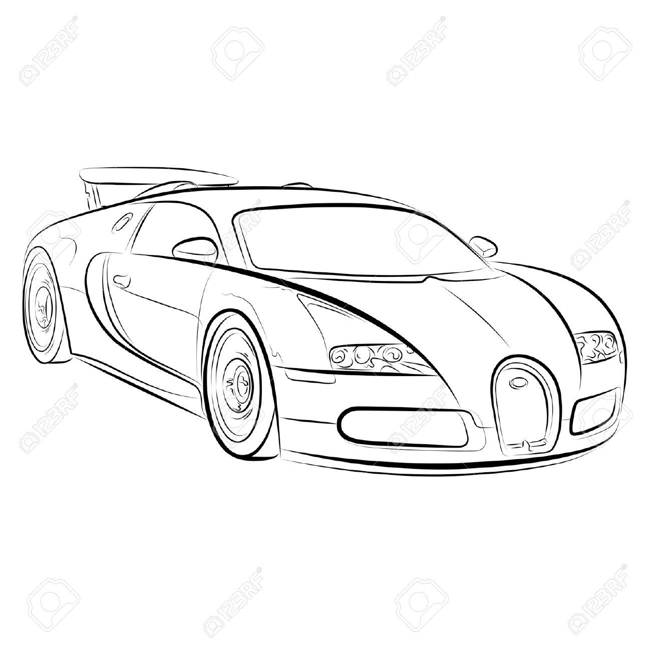 Sport Cars Drawing At Getdrawings
