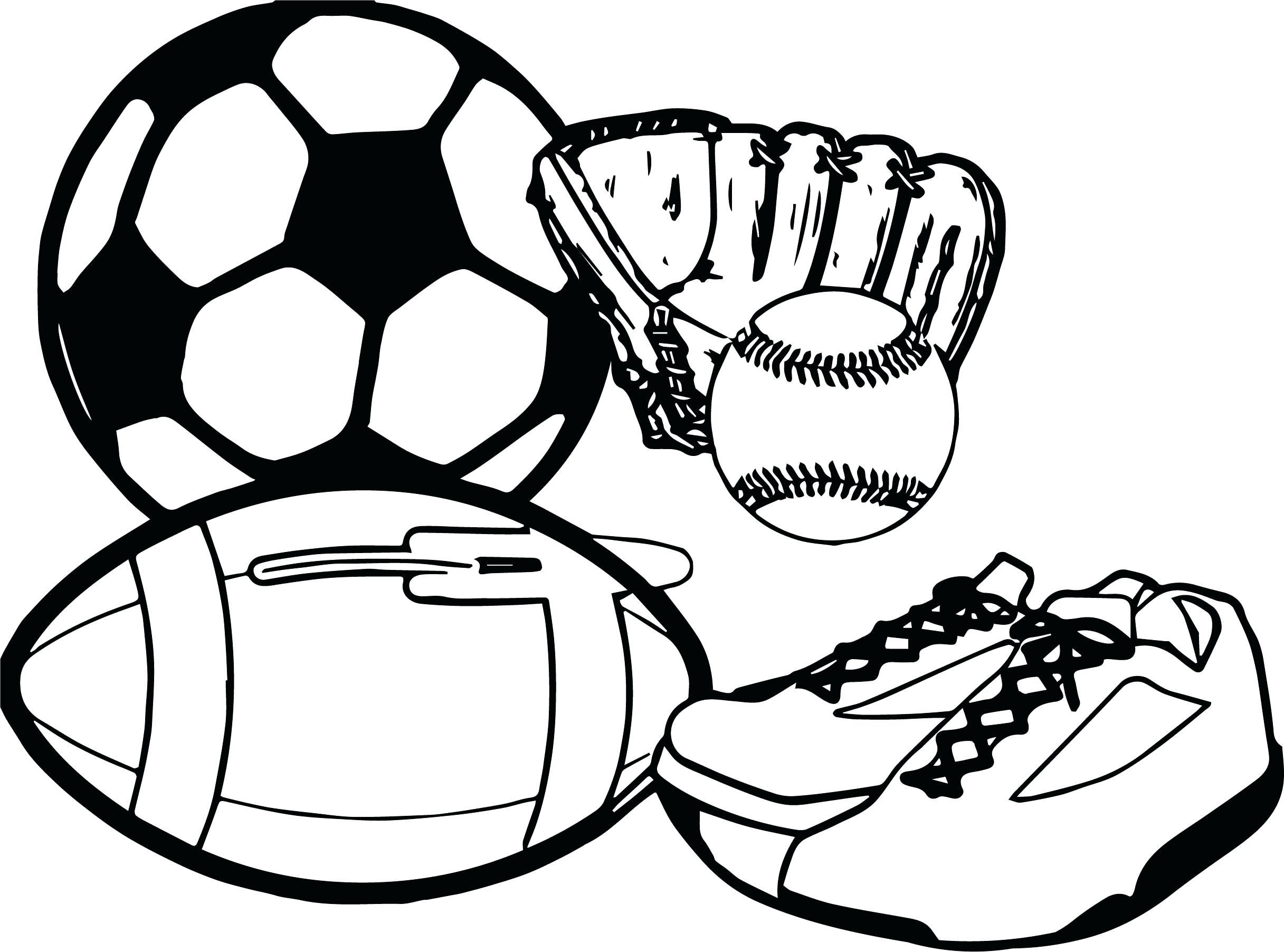 Sports Balls Drawing At Getdrawings