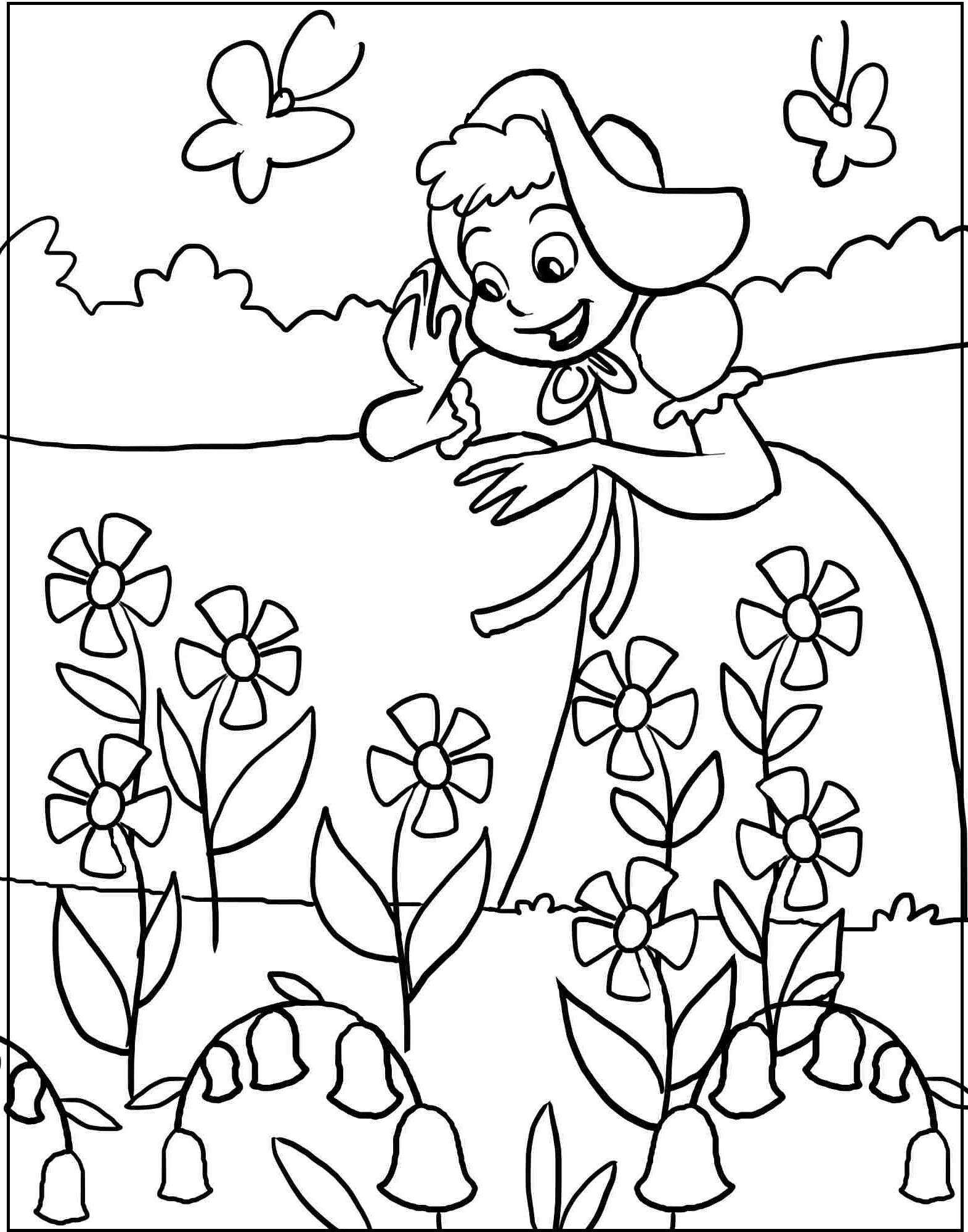 Spring Season Drawing At Getdrawings