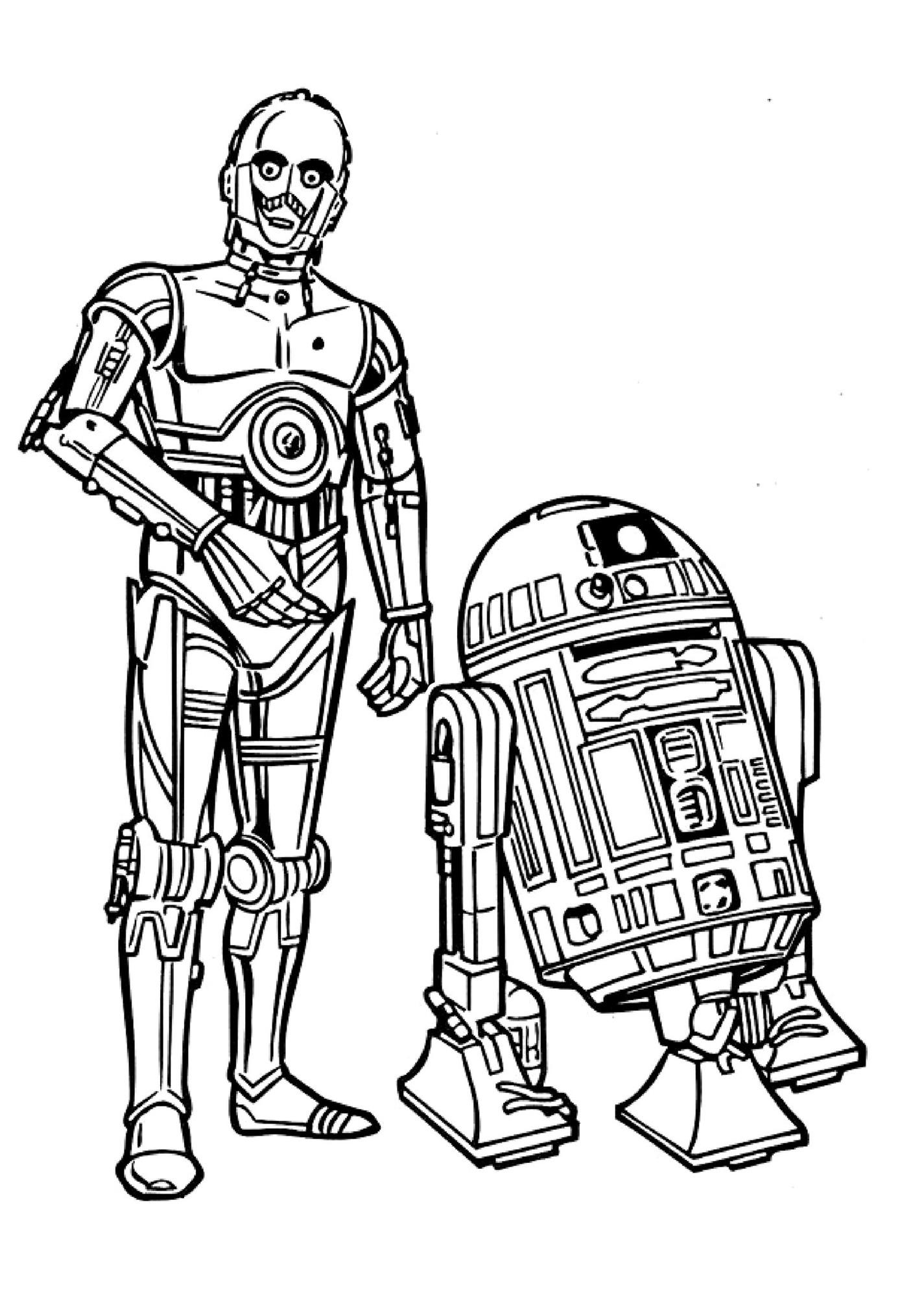 Star Wars Line Drawing At Getdrawings
