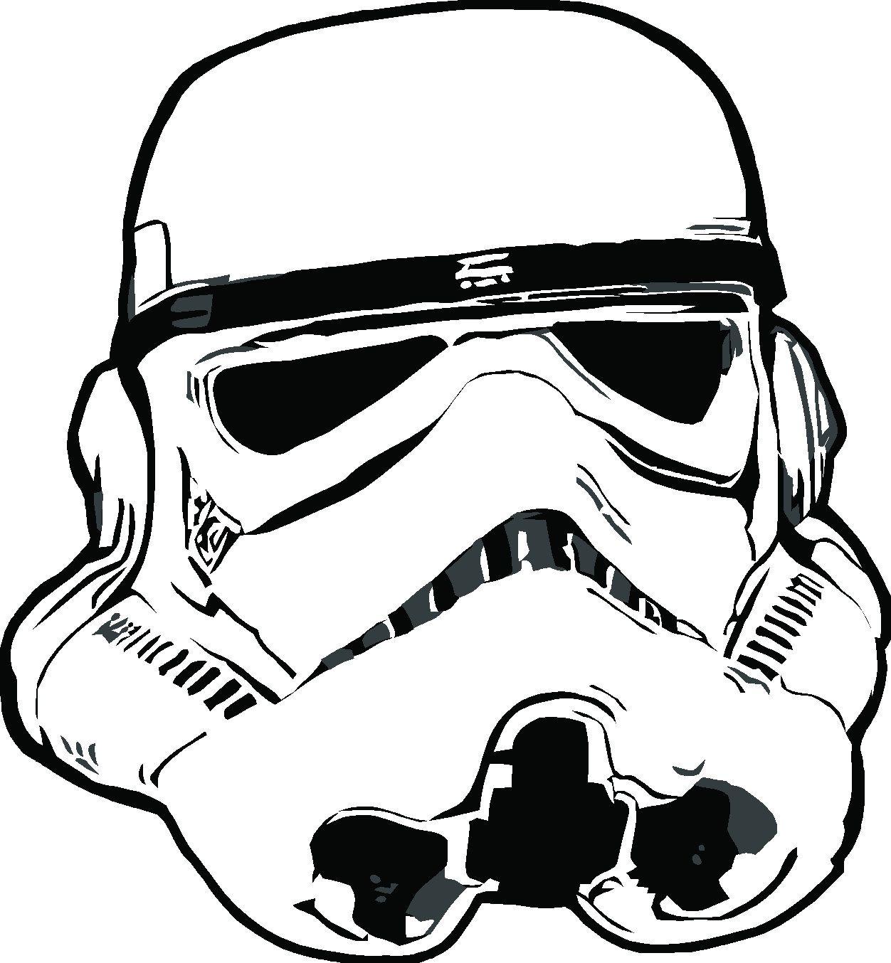 Star Wars Stormtrooper Helmet Drawing At Getdrawings