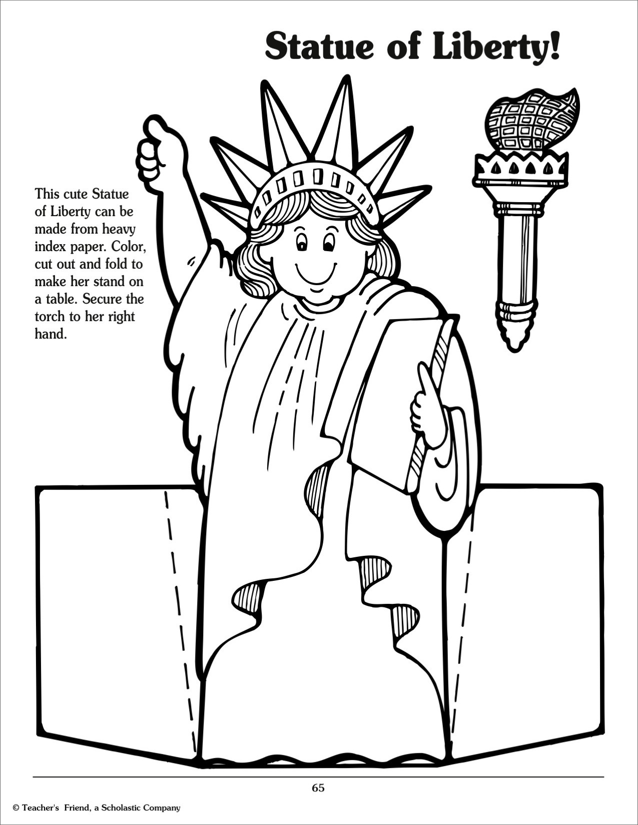 Statue Of Liberty Torch Drawing At Getdrawings