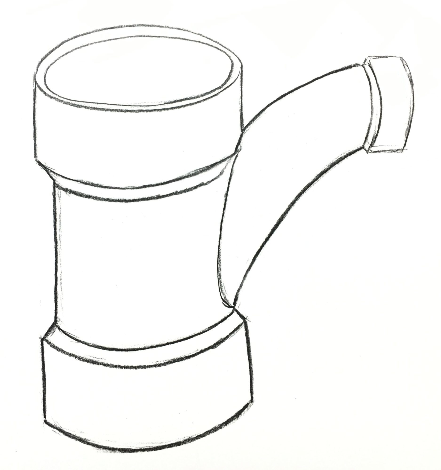 Steel Pipe Drawing At Getdrawings