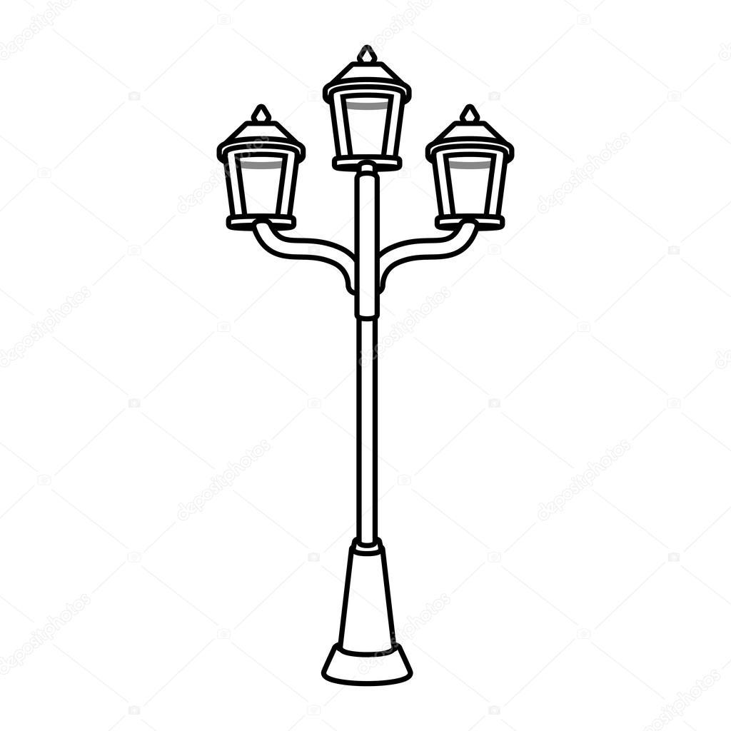 Street Light Drawing At Getdrawings