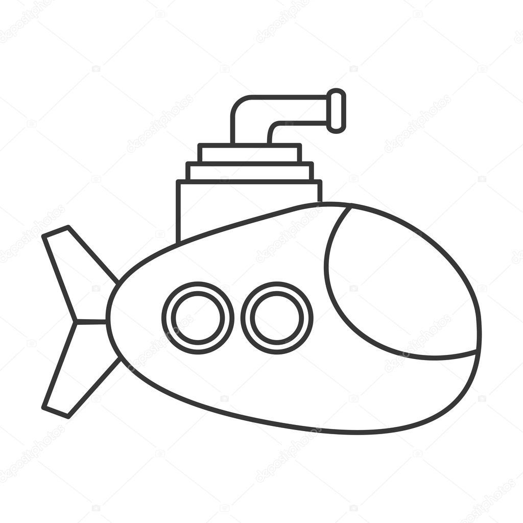 Submarine Drawing At Getdrawings