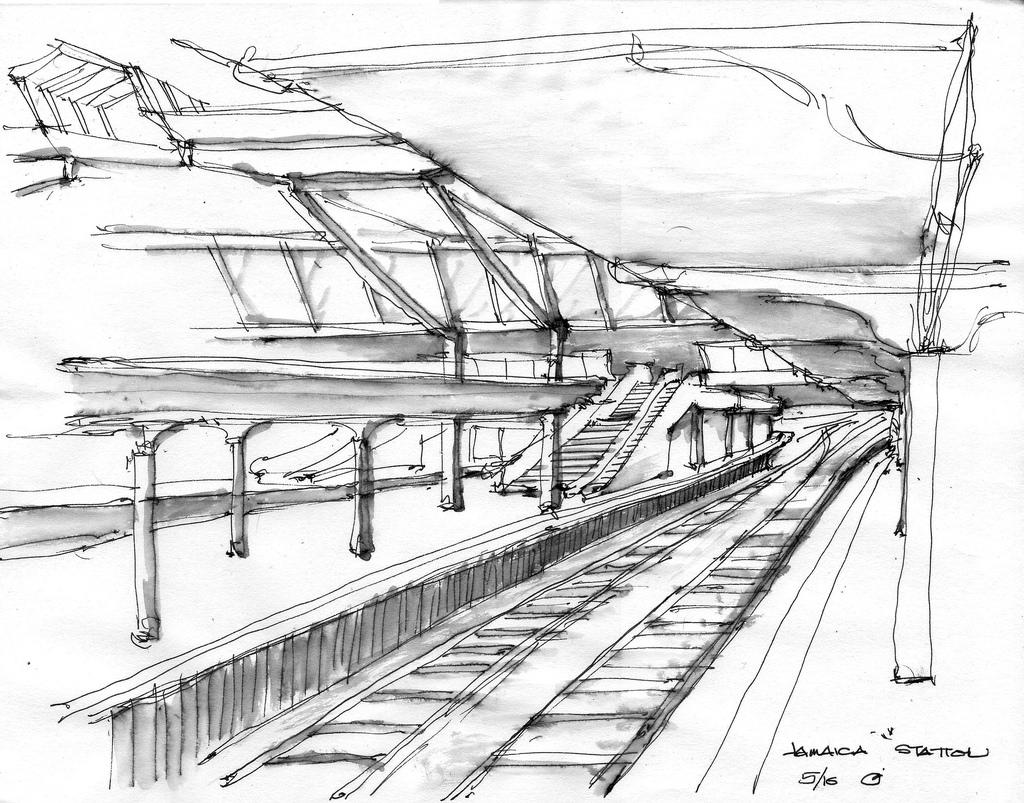 Subway Train Drawing At Getdrawings