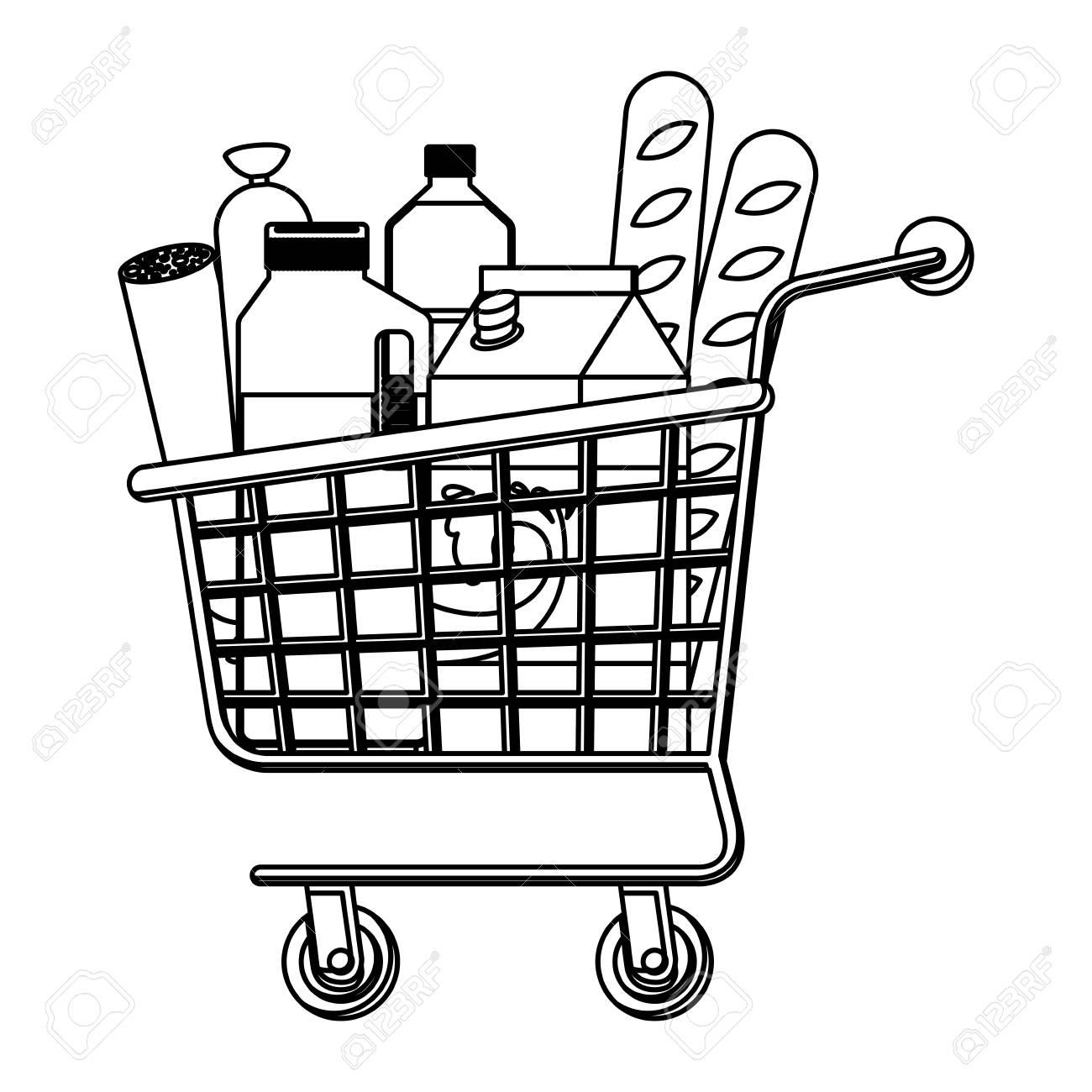 Supermarket Drawing At Getdrawings