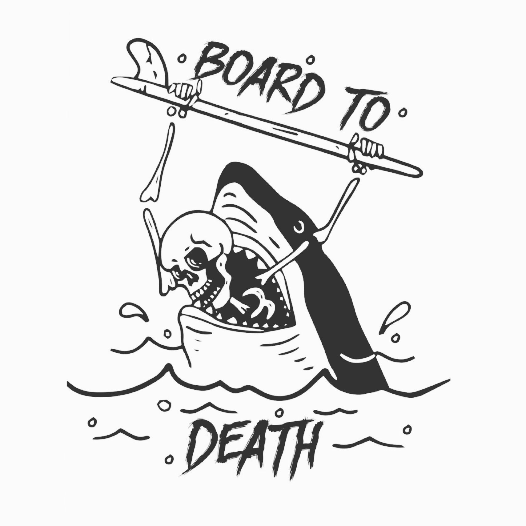 Surf Board Drawing At Getdrawings