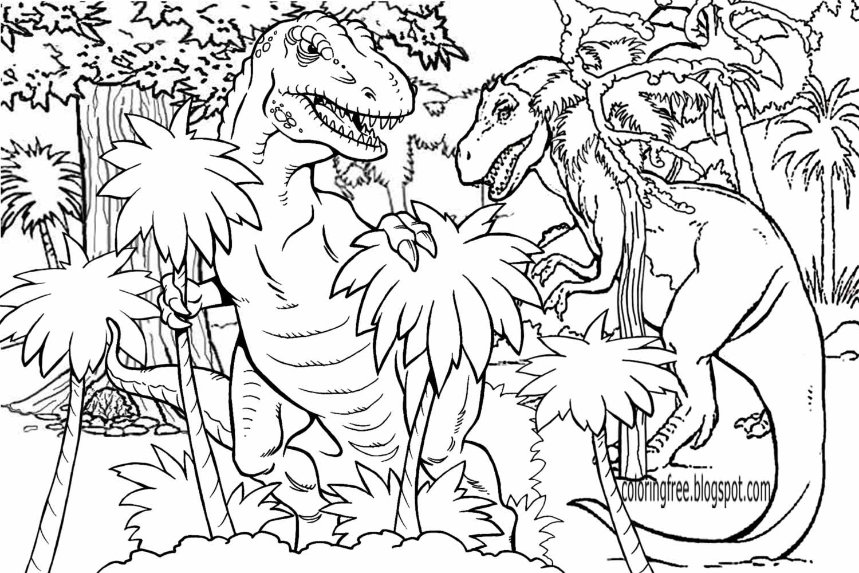 T Rex Dinosaur Drawing At Getdrawings