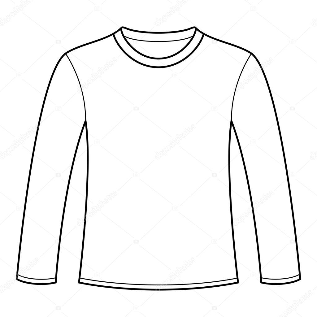 T Shirt Drawing Template At Getdrawings
