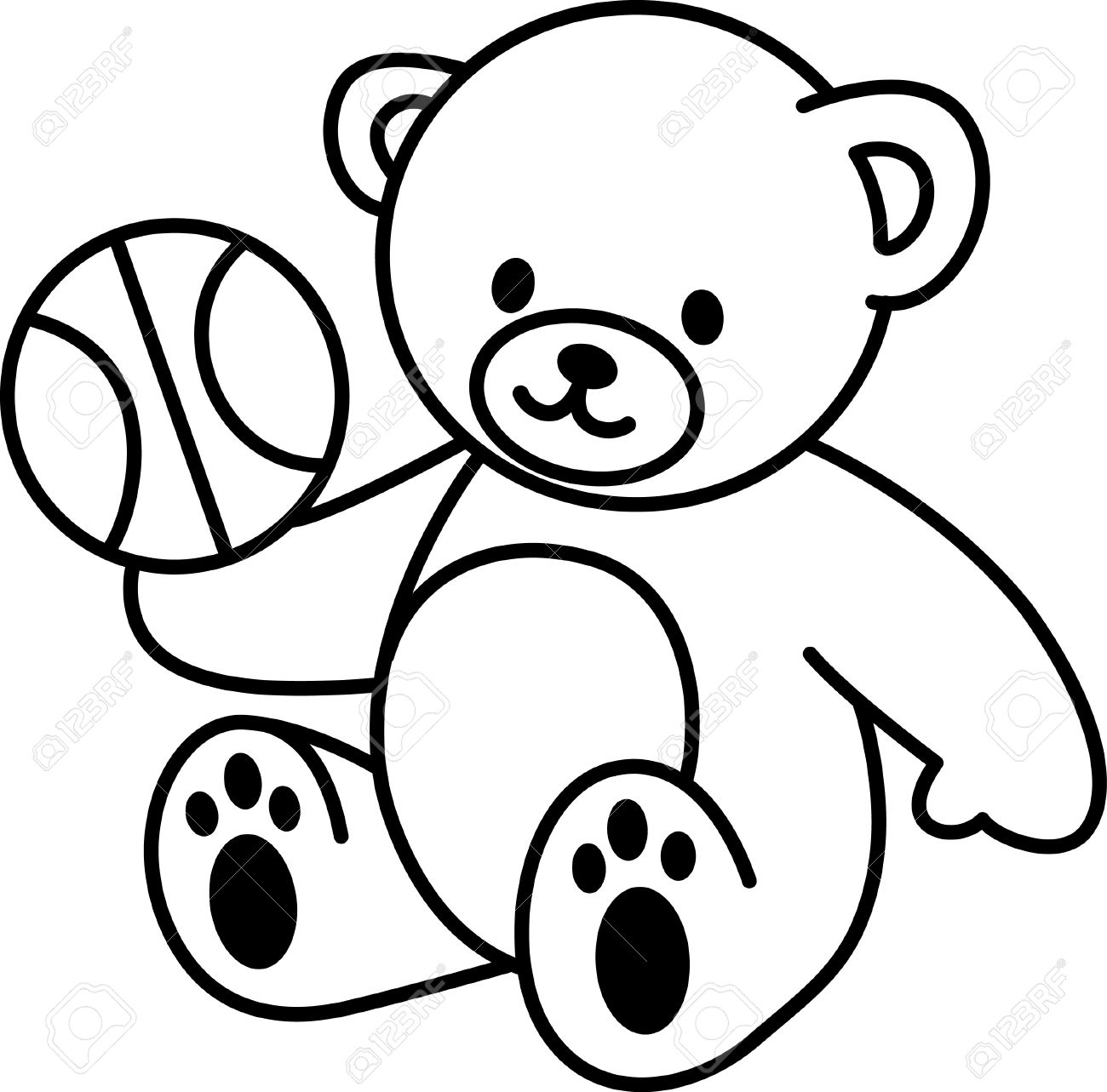 Teddy Bear Drawing Images At Free For