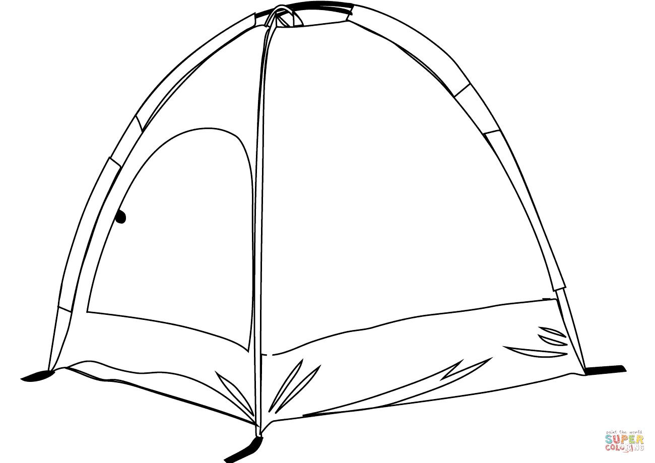 Tents Drawing At Getdrawings