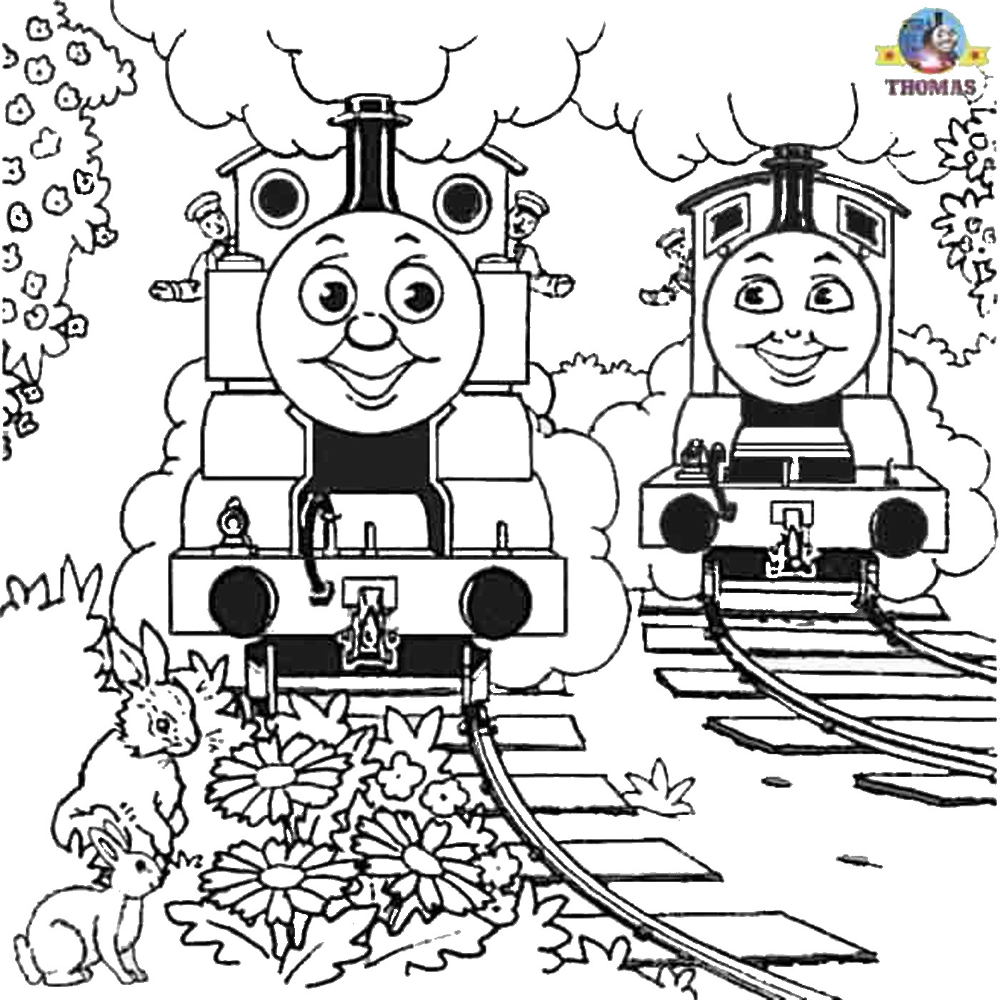 Thomas The Tank Engine Drawing At Getdrawings