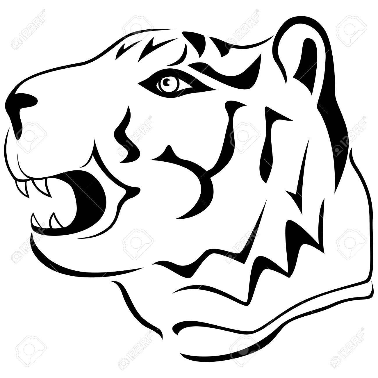 Tiger Drawing Cartoon At Getdrawings