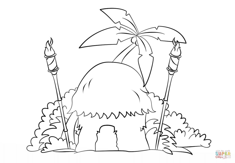 Tiki Drawing At Getdrawings