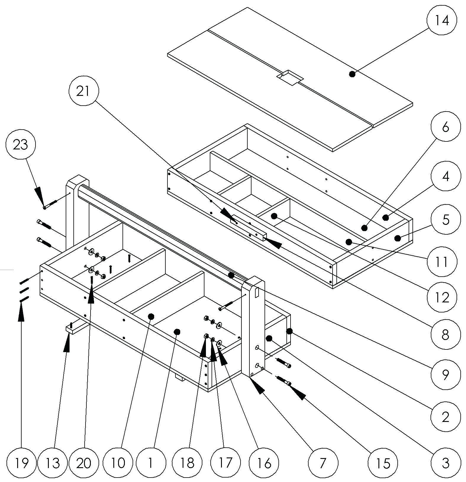 Tool Box Drawing At Getdrawings