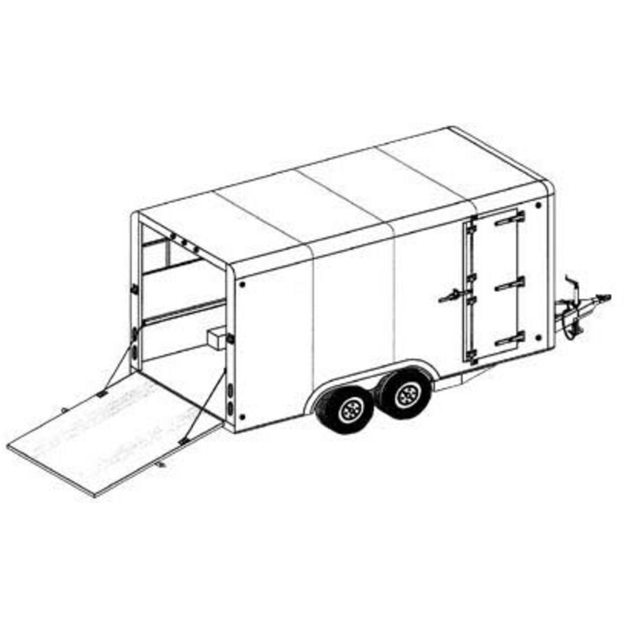 Trailer Drawing At Getdrawings