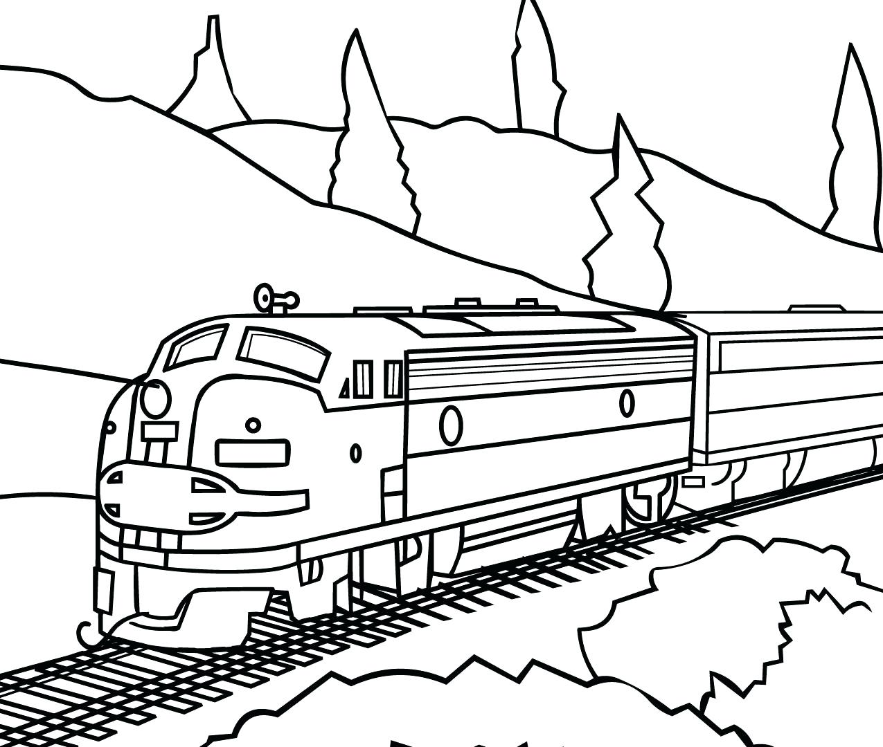 Train Caboose Drawing At Getdrawings