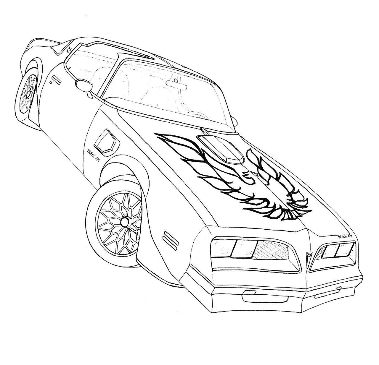 Trans Am Drawing At Getdrawings