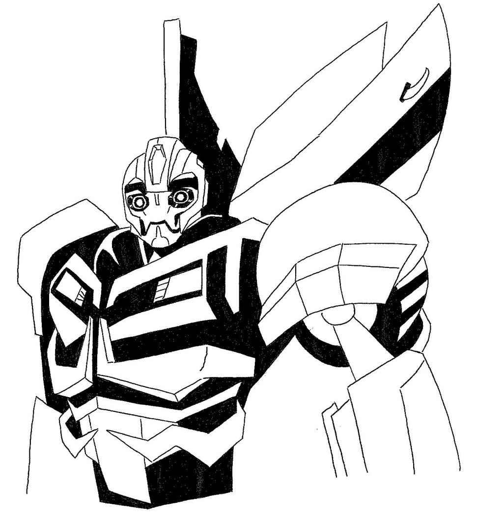 Transformer Bumblebee Drawing At Getdrawings