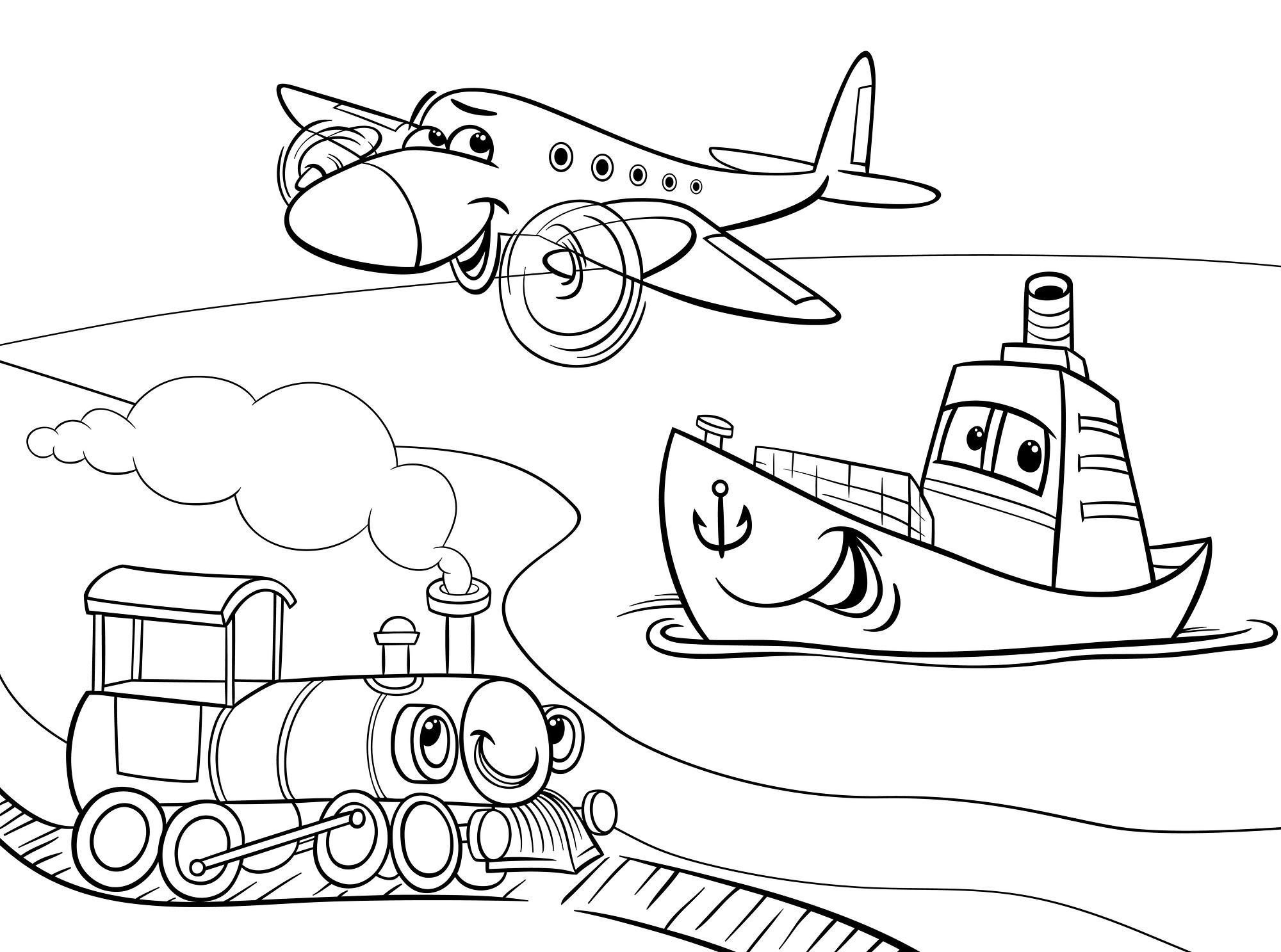 Transport Drawing At Getdrawings