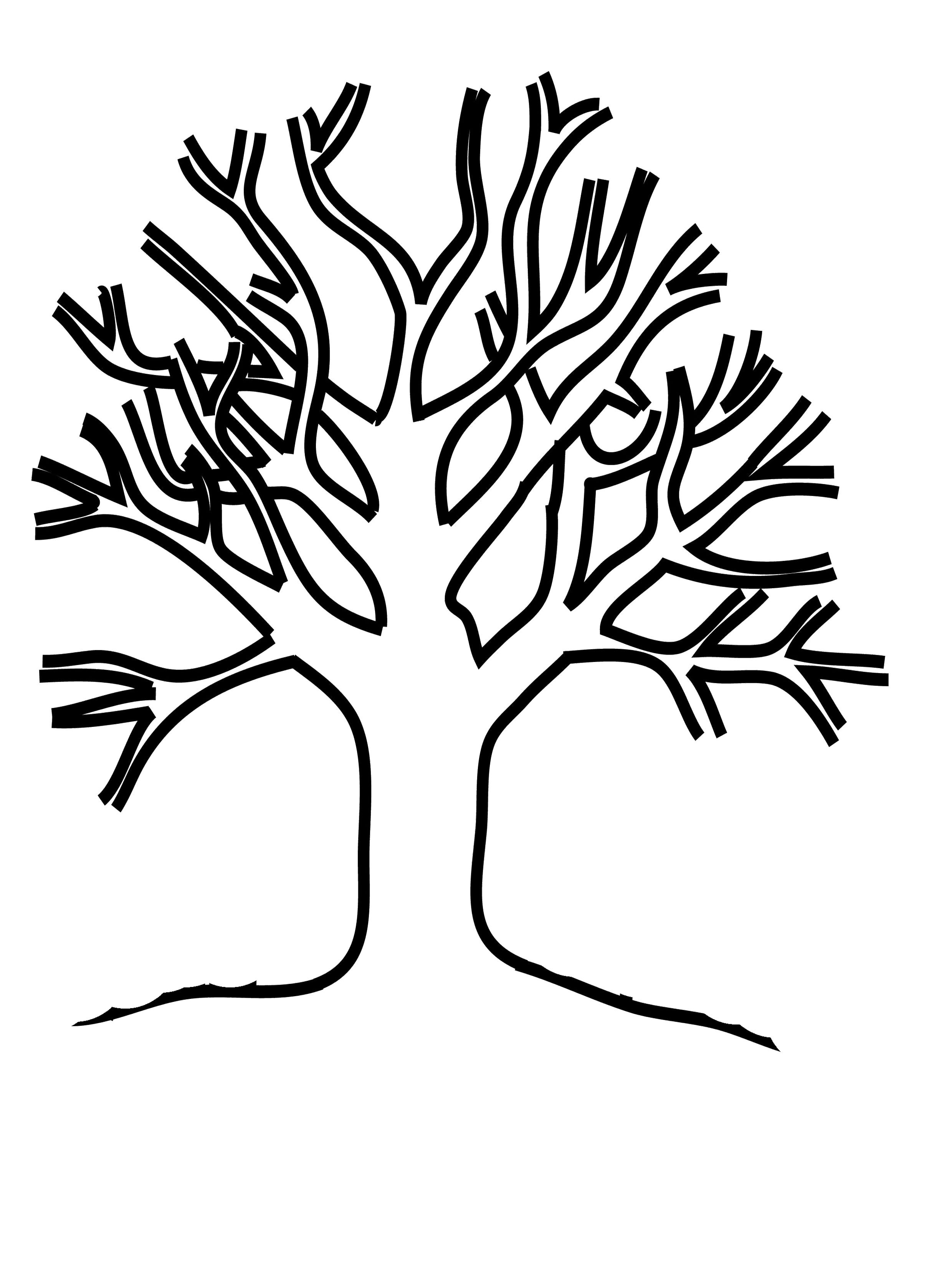 Tree Drawing With Roots At Getdrawings