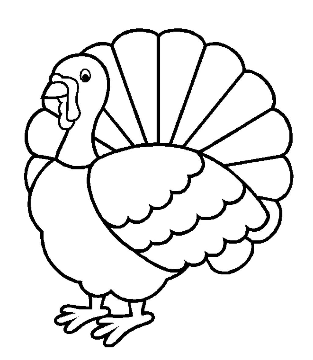 Turkey Drawing Outline At Getdrawings