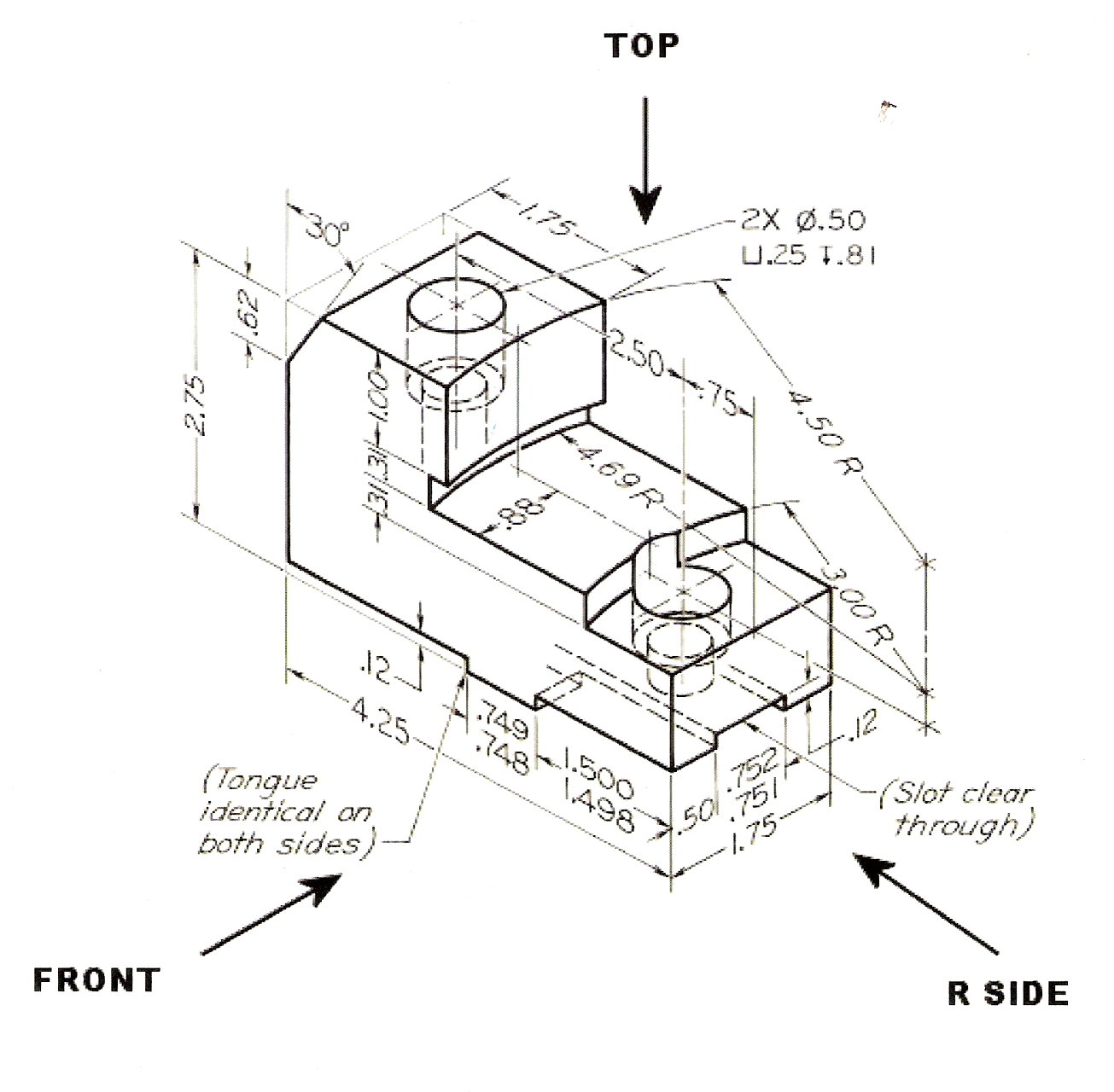 Types Of Dimensions In Engineering Drawing At Getdrawings