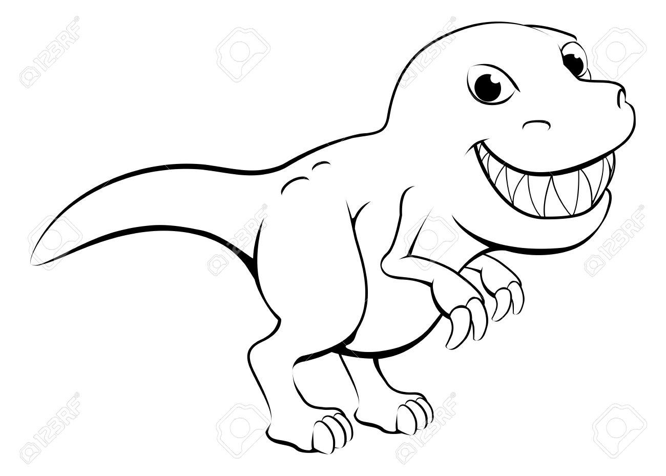 Tyrannosaurus Rex Drawing At Getdrawings