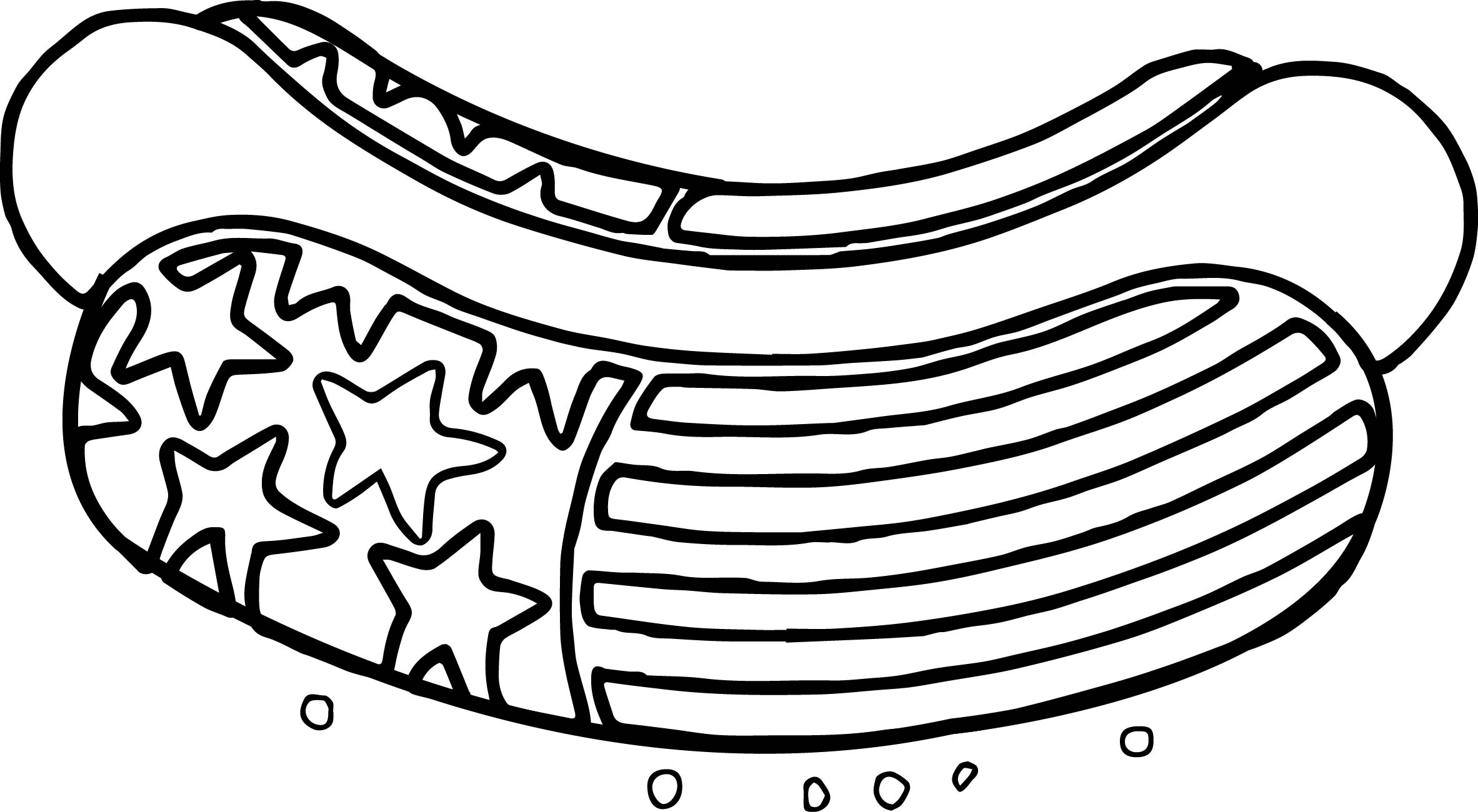 Us Flag Drawing At Getdrawings
