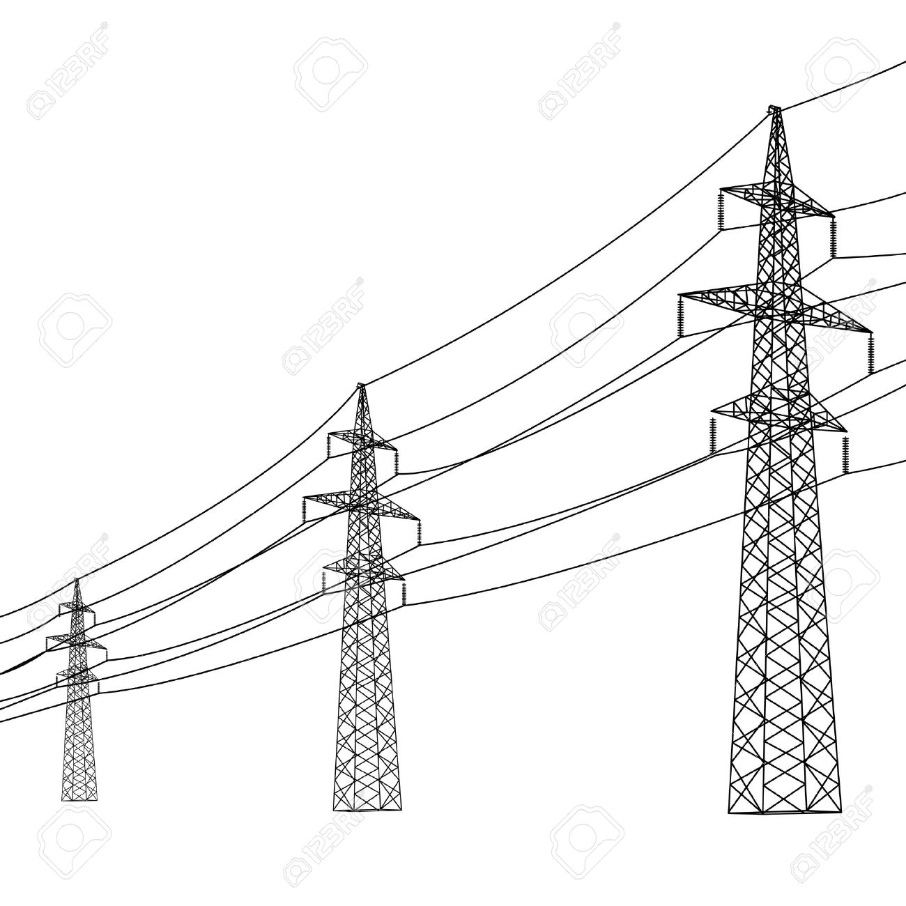 Utility Pole Drawing At Getdrawings