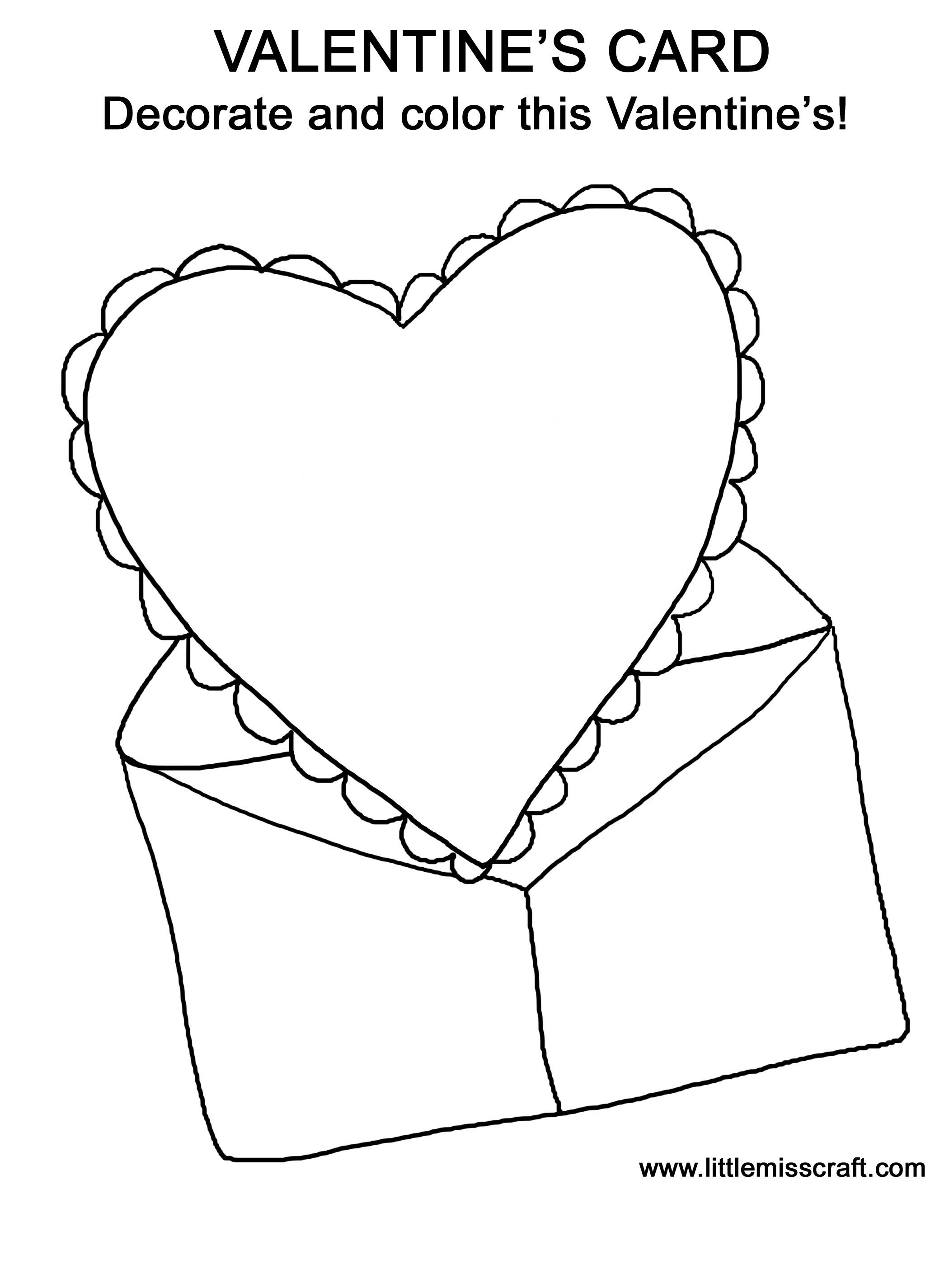 Valentines Card Drawing At Getdrawings