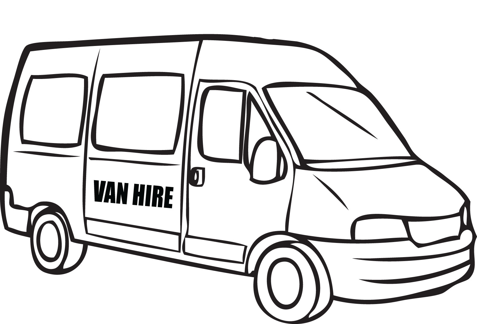 Van Drawing At Getdrawings
