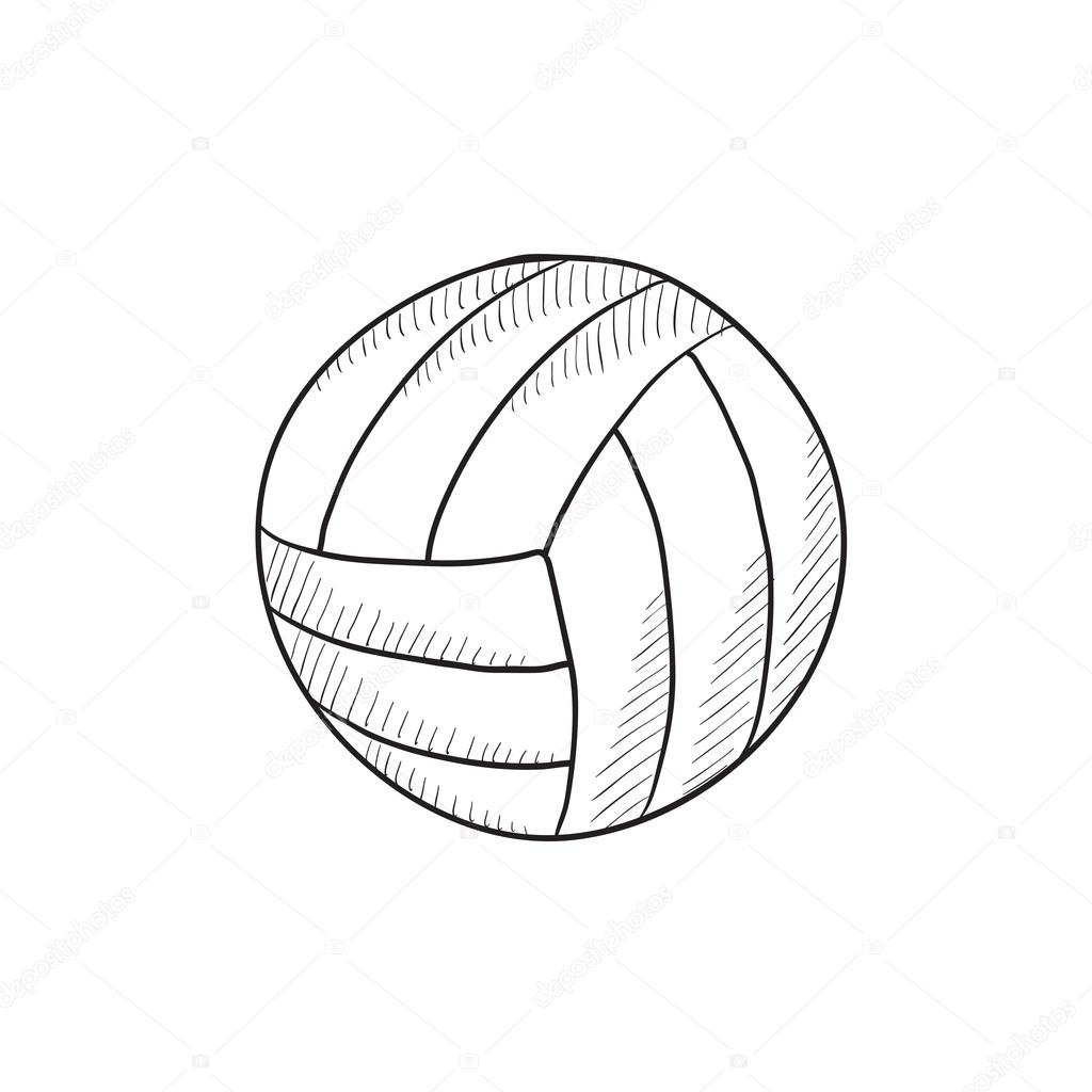 Volleyball Net Drawing At Getdrawings