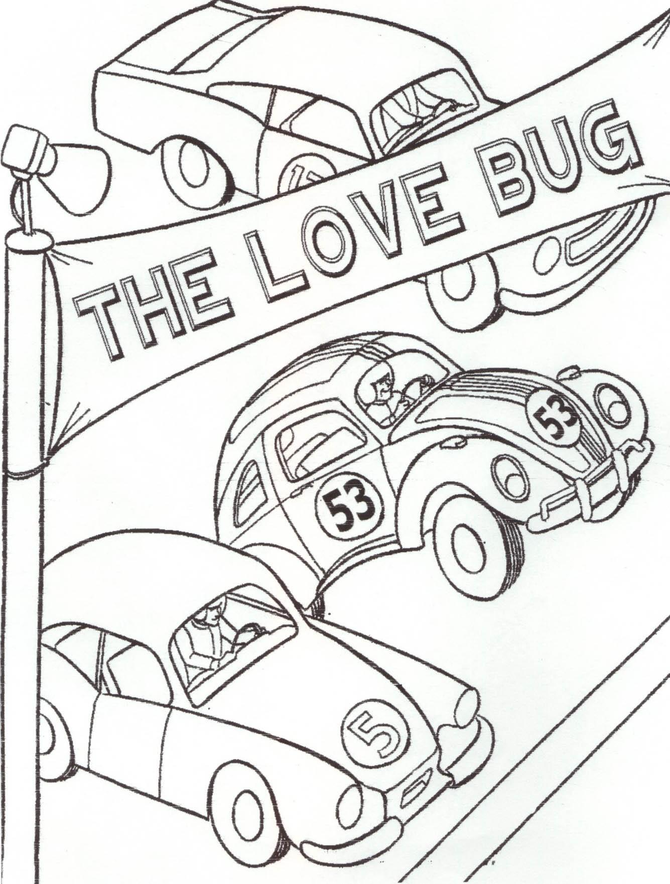 Vw Beetle Drawing At Getdrawings