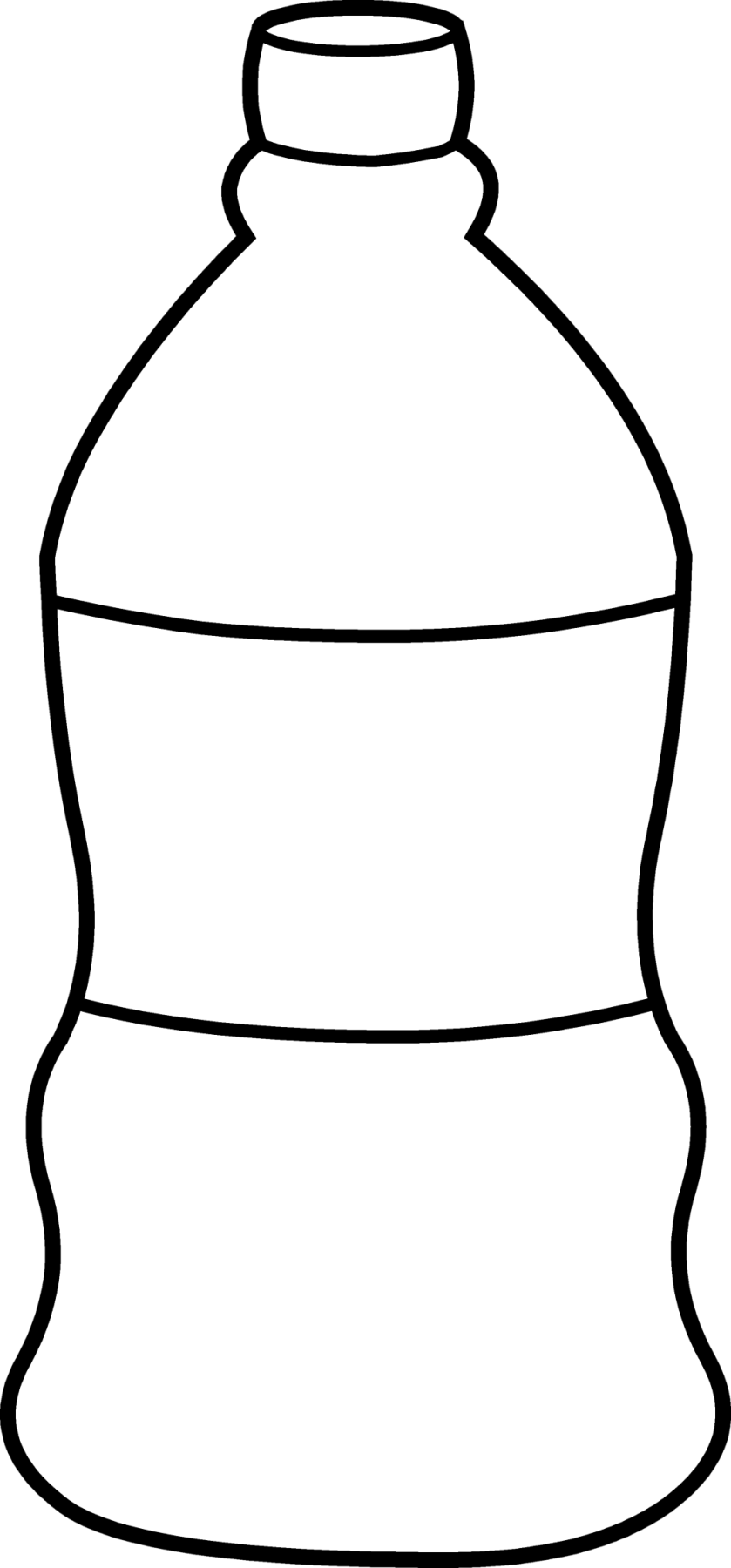 water bottle drawing at getdrawings  free download
