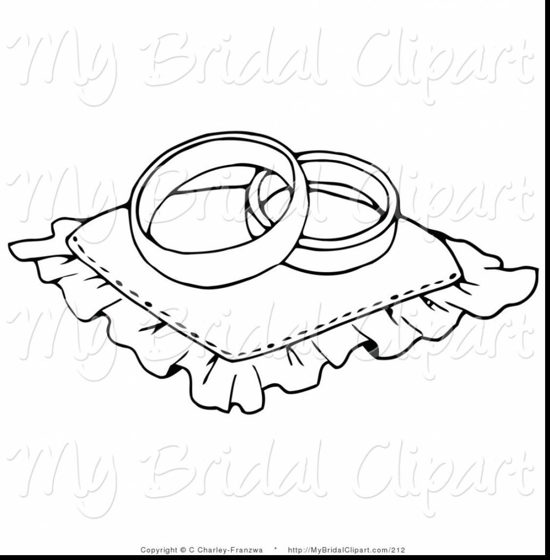 Wedding Bell Drawing At Getdrawings