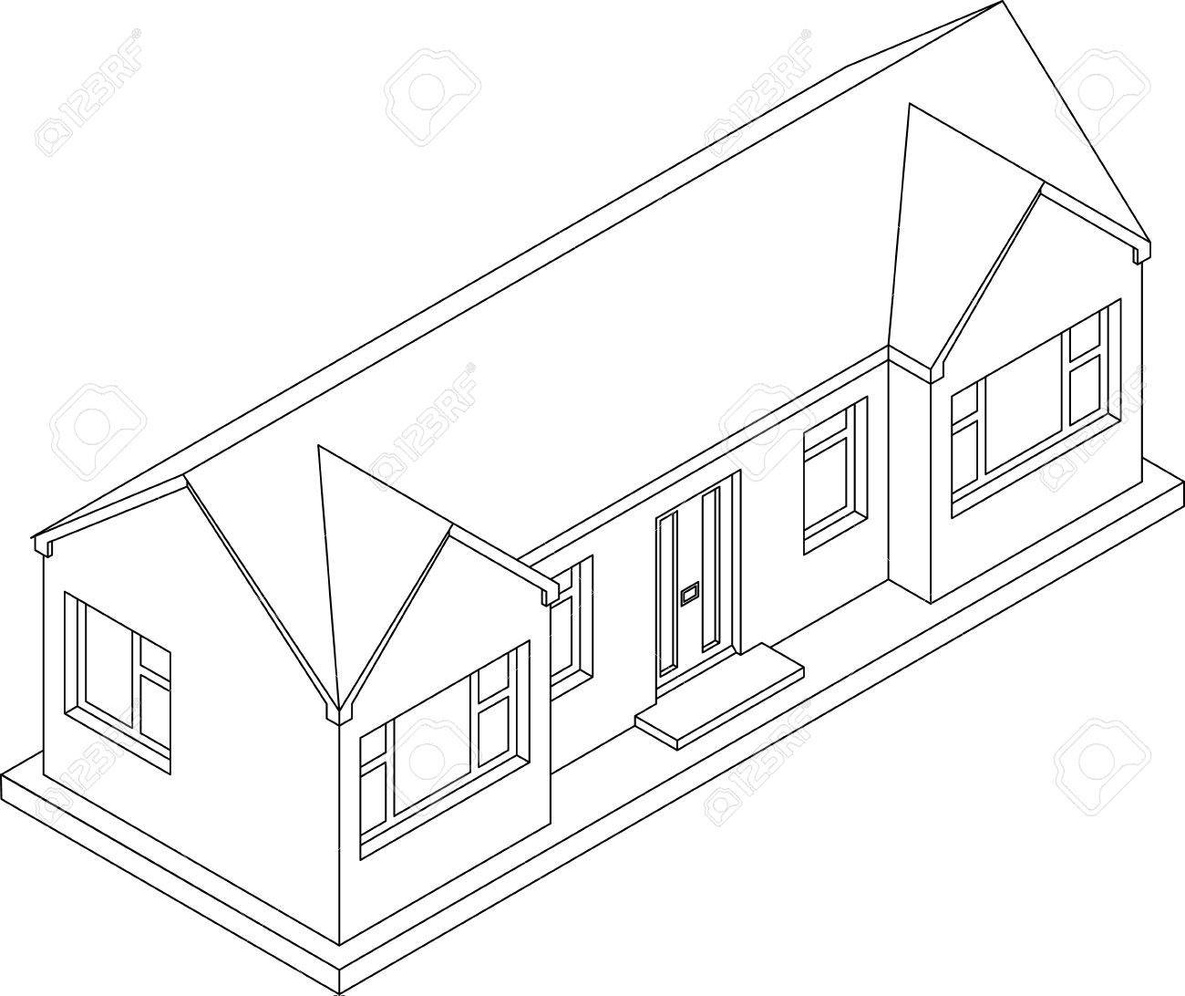 White house drawing at getdrawings free for personal use white big 3d drawings 1300x1092 3d