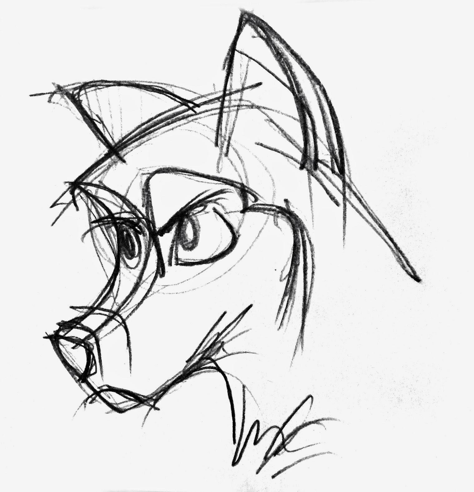 Wolf Pencil Drawing At Getdrawings