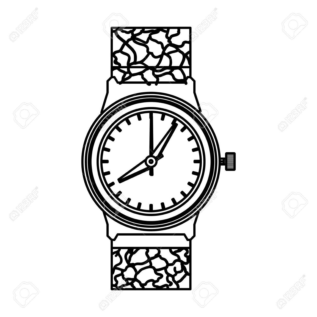 The Best Free Wristwatch Drawing Images Download From 26