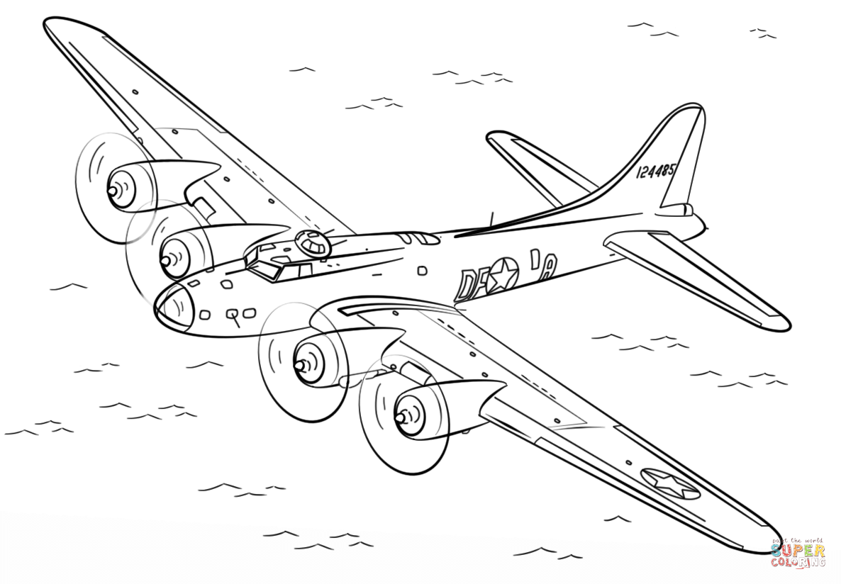 Ww2 Plane Drawing At Getdrawings