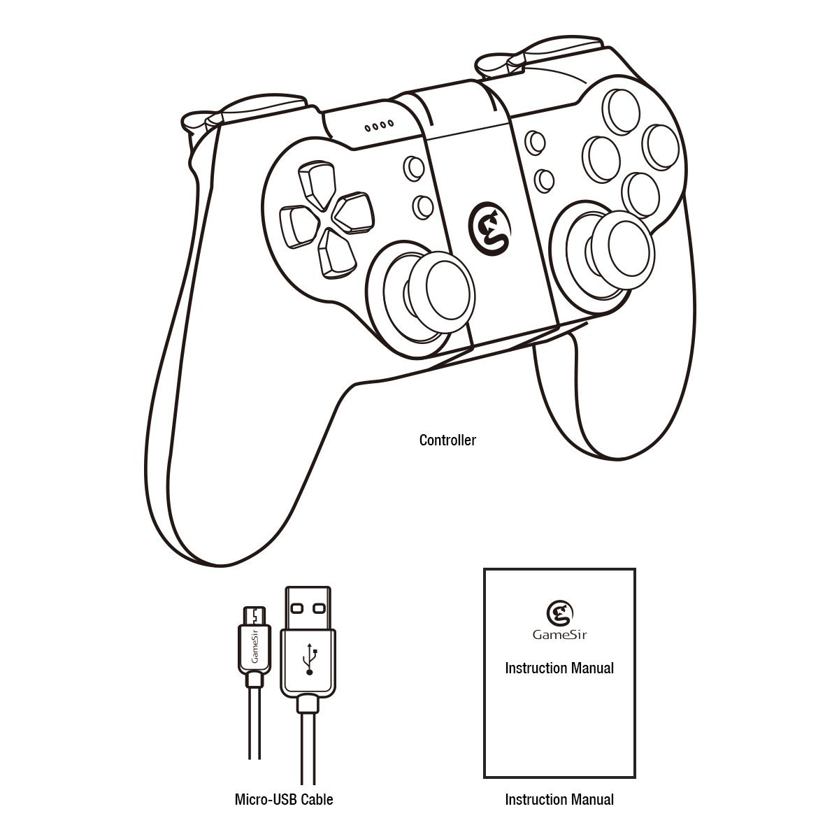 Xbox One Controller Drawing At Getdrawings