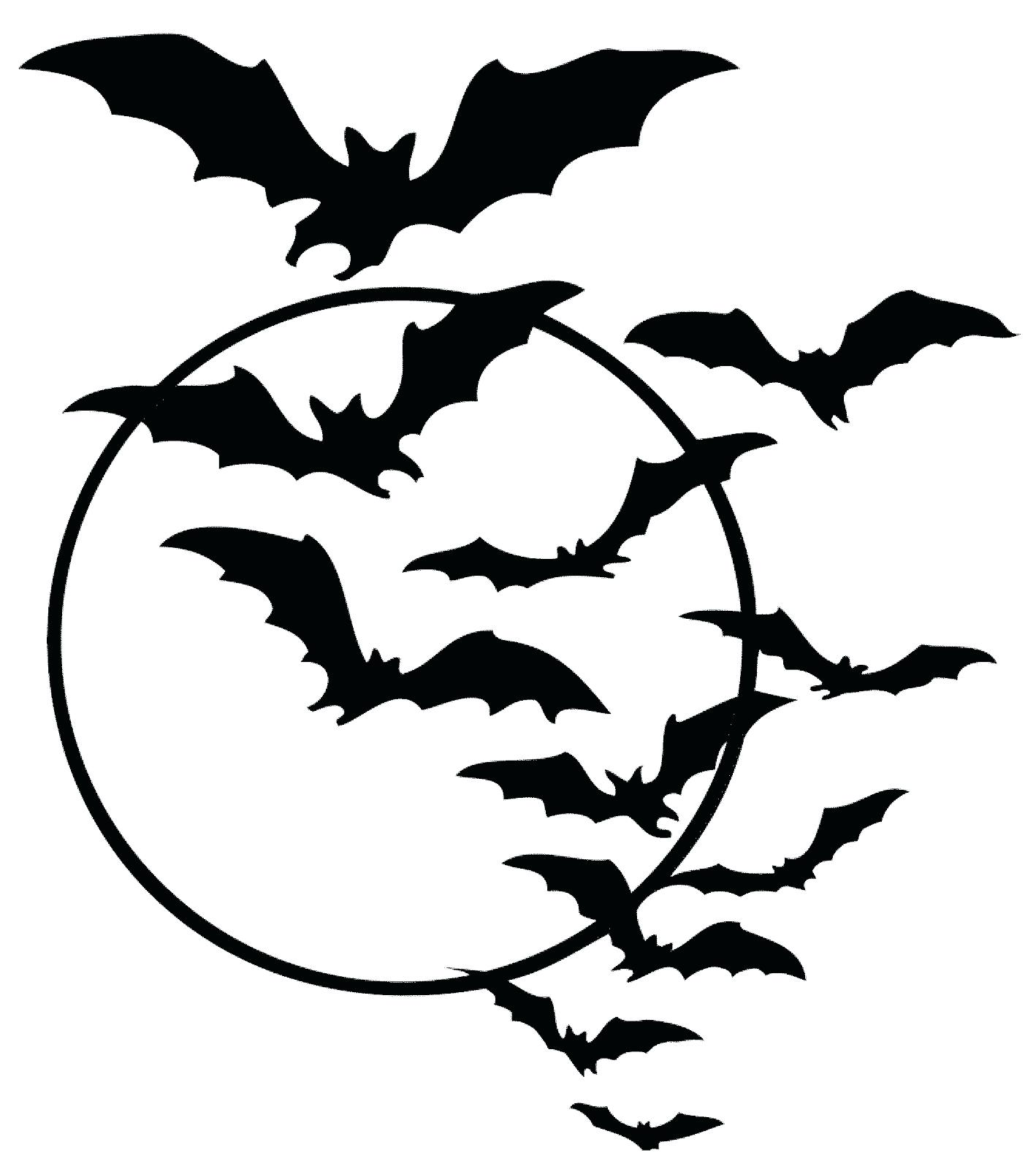 Bat Silhouette Printable At Getdrawings
