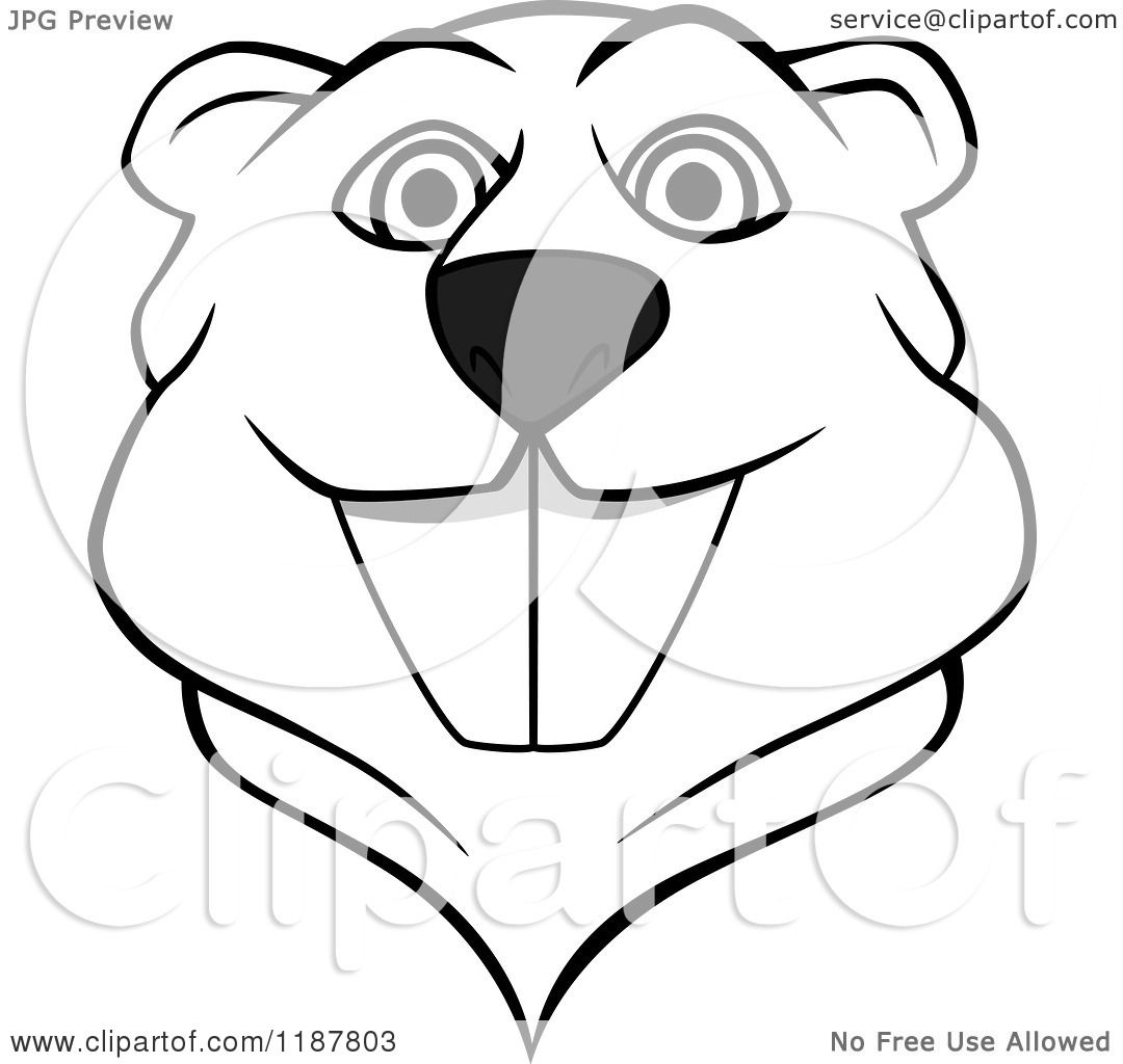 Beaver Silhouette Clip Art At Getdrawings