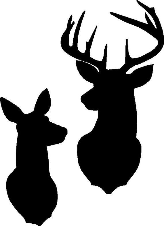 Download Buck Doe Silhouette at GetDrawings   Free download