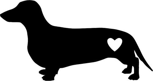 Download Dachshund Silhouette Printable at GetDrawings | Free download