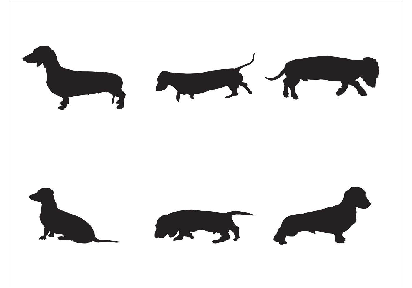 Dachshund Silhouette Printable At Getdrawings